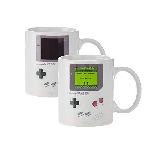 Paladone Taza Térmica Game Boy, Cerámica,...