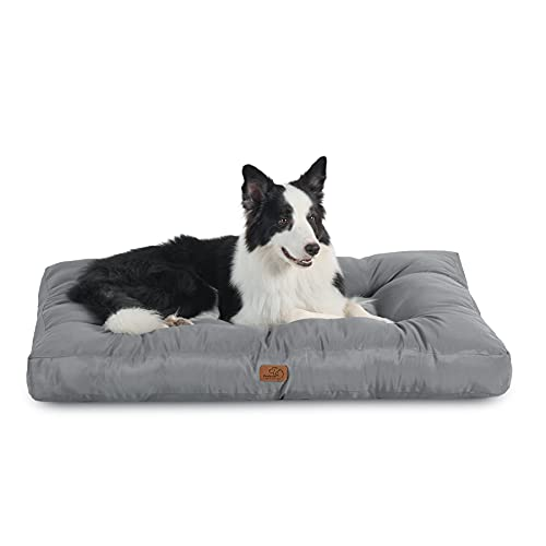 Bedsure Cama Perro Impermeable Grande - Colchón...