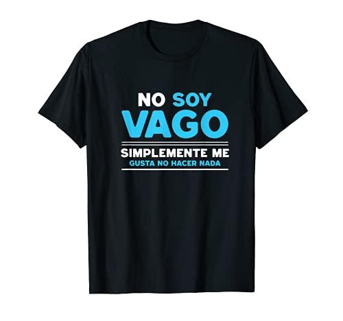 Camiseta graciosa y divertida para gente vaga...