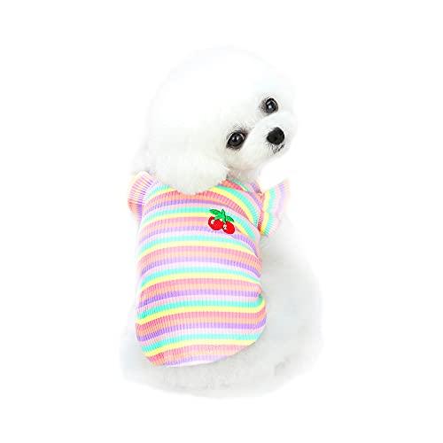 YAODHAOD Camisa para Perros Camisa de algodón a...