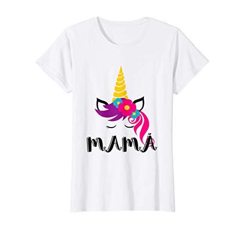 Mujer Camisa Unicornio para mama ropa de fiesta de...