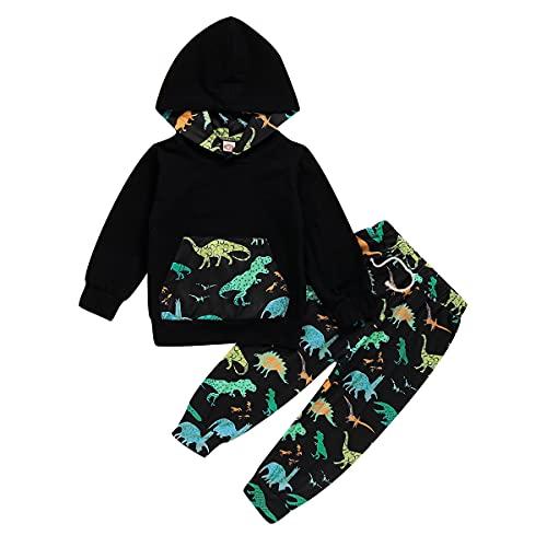 puseky 2Pcs Niños Niño Niño Moda Dinosaurio...
