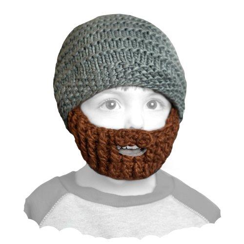 Beardo ® Gorro infantil con barba (diferentes...