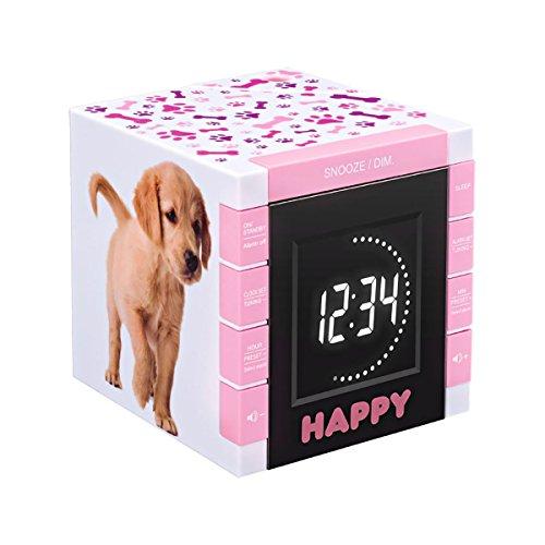 BigBen RR70PDOGS2 - Reloj despertador con...