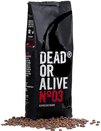 DEAD OR ALIVE Granos de Café Espresso NR3 -...