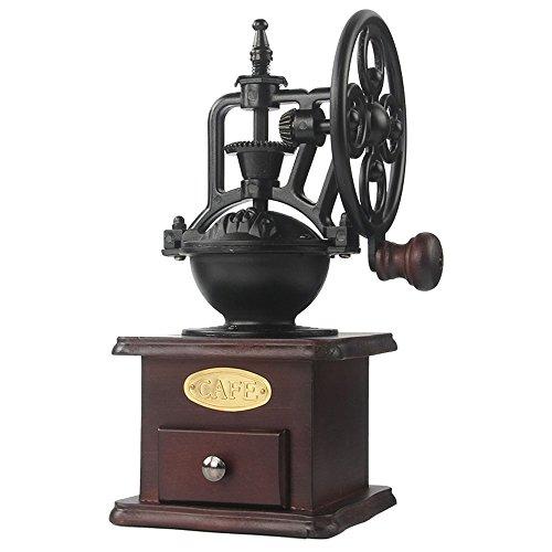 Molinillo de café manual Hierro fundido antiguo...