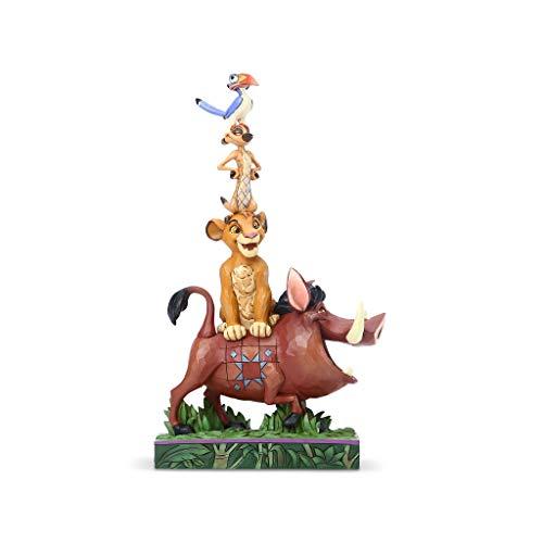Disney Traditions, Figura de Pumba, Timón y Simba...