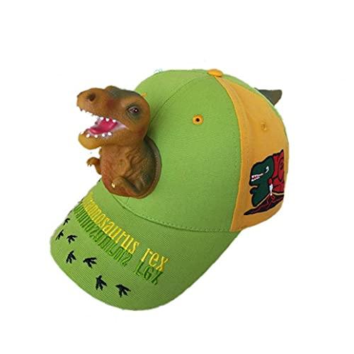 Zonster 1pcs Sombreros 3D Dinosaurio Gorras De...