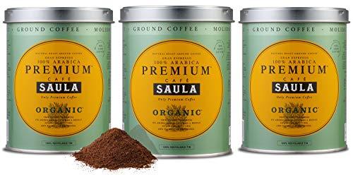 Café Saula Premium Ecológico 100% arábica...