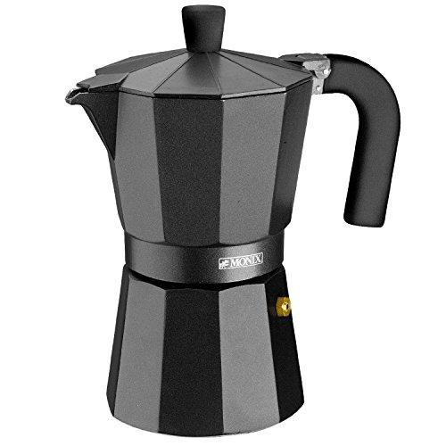 Monix Vitro Noir – Cafetera Italiana de...