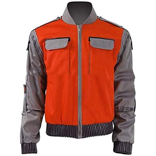 CNM LY Chaqueta de Nuevo al Futuro Naranja Outwear...