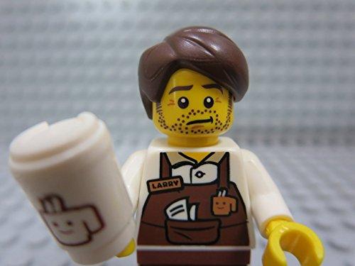 The Lego Movie Larry the Barista Coffee Minifigure...