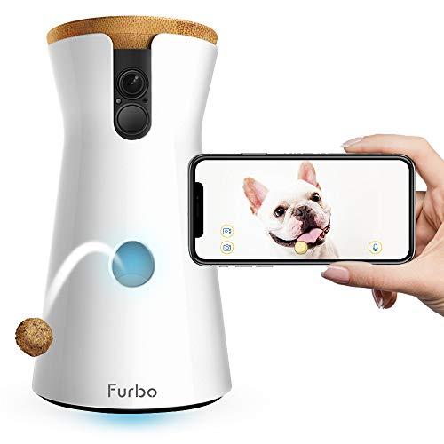 Furbo - CÁMARA para Perros: Telecámara HD WiFi...