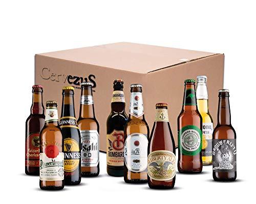 Cervezas del Mundo Regalo (Pack 10 variedades) -...
