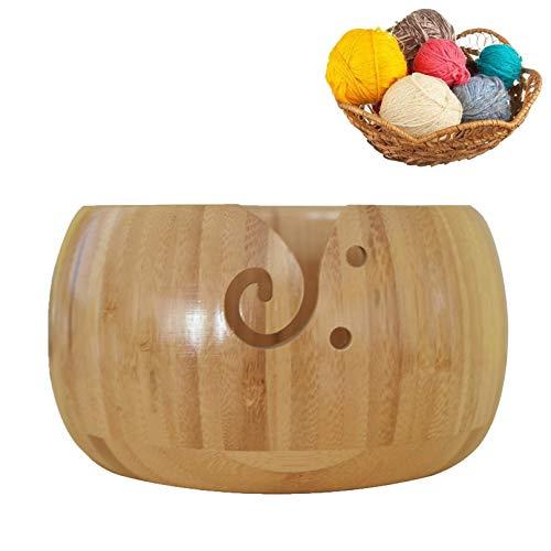 Holz sammlung Cuenco de Bambú para Lana,...