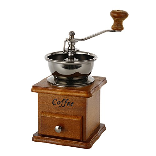 ZULUX Vendimia manual Amoladora de café de...
