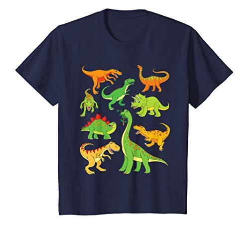 Niños Dinosaurio Camiseta