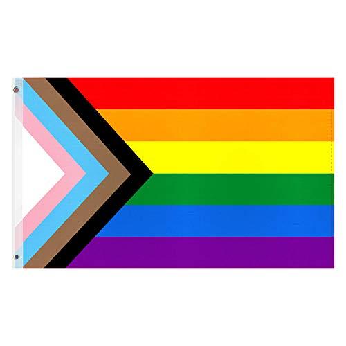 Esportic Bandera LGTB Grande, Gay Pride Bandera,...