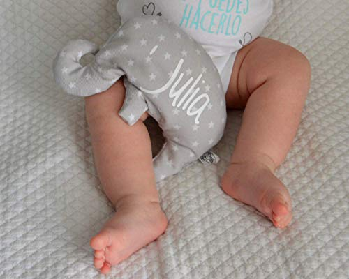 Saquito térmico de semillas'elefante', para bebé...