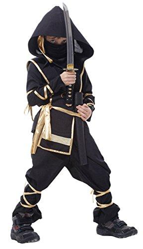 EOZY Disfraz de Ninja para Niño 4-12...