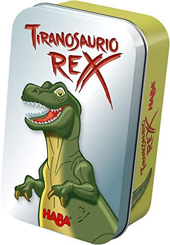 Haba-304620 Juego de Mesa, Tiranosaurio Rex,...