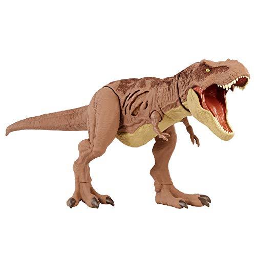 Jurassic World Dinosaurio T-Rex Daño Extremo...