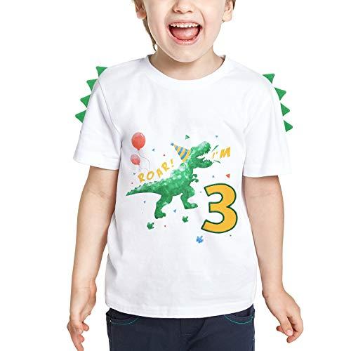 3 Años Camiseta Cumpleaños Bebé Niño...