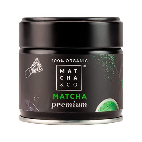 Té Matcha Premium 100% Ecológico 30g [Grado...