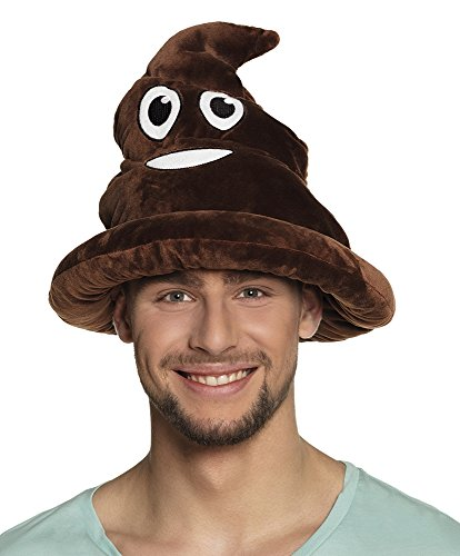 Divertido emoji emoticono, sombrero, artículo de...