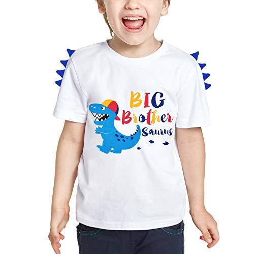 Camiseta de Hermano Mayor - Dinosaurio Trajes de...