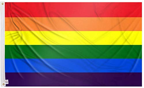 Ericraft Bandera LGTB Grande 90x150cms Bandera Gay...