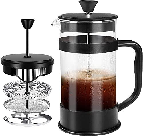 KICHLY - 8 tazas (1 litro / 1000 ml) Cafetera...