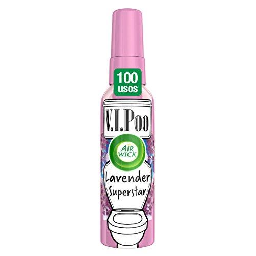Air Wick VIPoo Spray para el WC, Lavanda - 55 ml