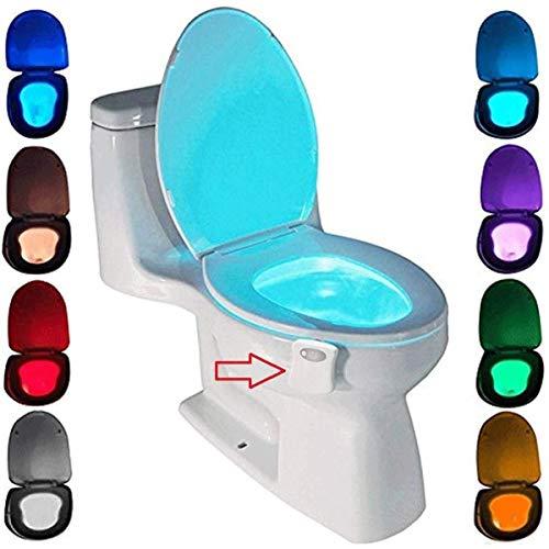 WC luz nocturna, ZSZT LED Luz de Inodoro Luz con...
