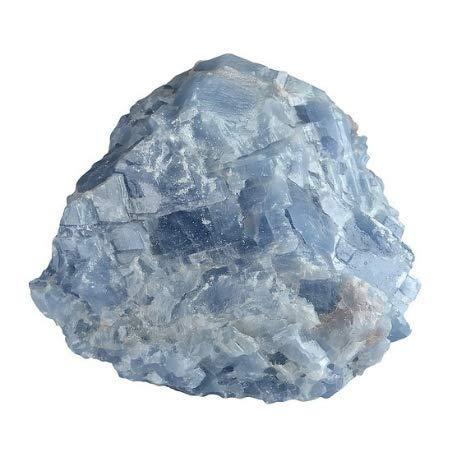 Calcita azul bruta de Sri Lanka de 50 mm piedra...