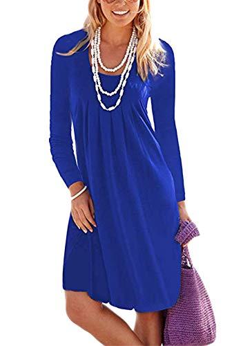 OMZIN - Vestido de verano para mujer, falda...