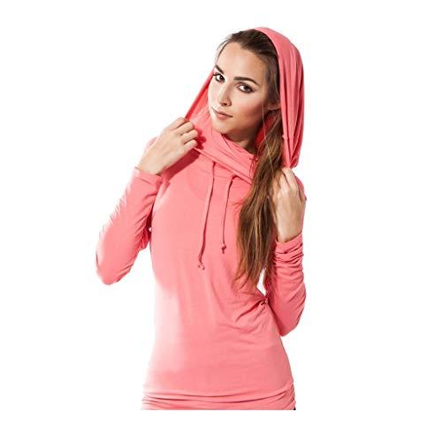 Sternitz Camisa Fitness para Mujer, Bhakti Hoodie,...