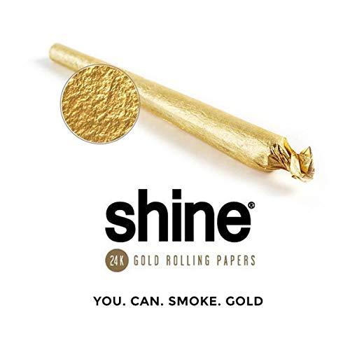 Shine 24k Gold Rolling Papers - Papel de Fumar...
