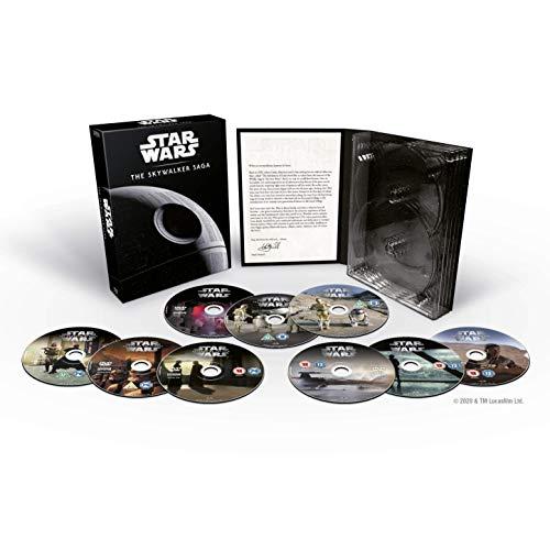 Star Wars Complete Saga DVD [Italia]