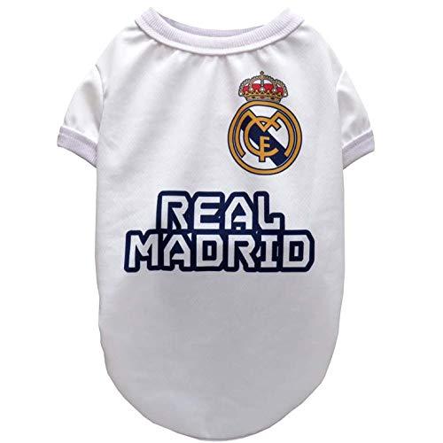 Real Madrid SH-01XS-RM Camiseta para Perro, Talla...