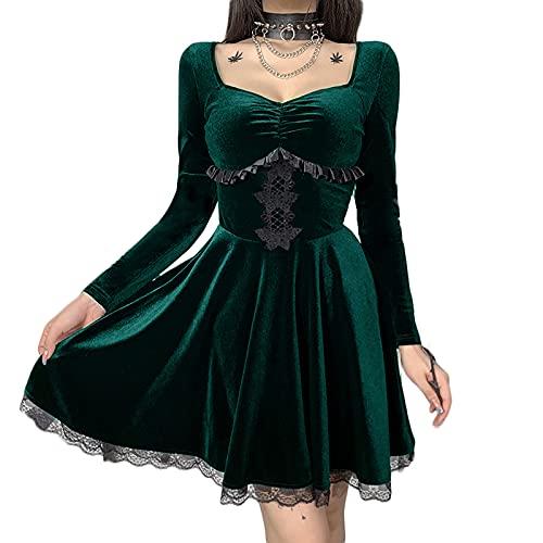 Vestidos góticos de Lolita vintage grunge capas...