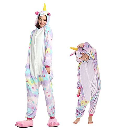 Regenboghorn Unicornio disfraz de pijama Pegaso,...