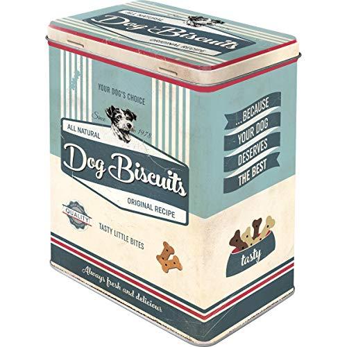 Nostalgic-Art Caja metálica Retro L Dog Biscuits...