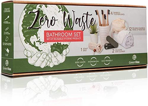 Greenvea – Kit Cero waste – Contiene: cepillos...