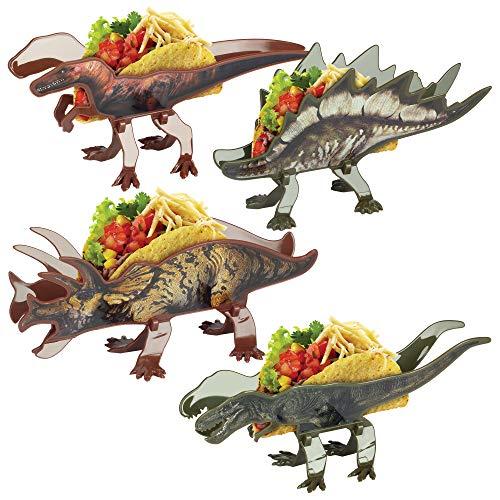 Funwares Ferocious Feast - Juego de 4 soportes...