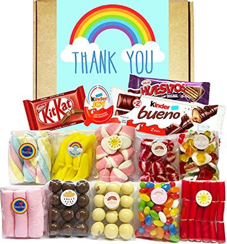 Cesta Thank You, Lote de Dulces, Golosinas y...