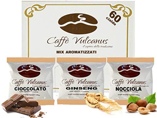 Caffè Vulcanus - Kit degustación 60 monodosis de...