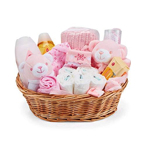 Baby Box Shop - Cesta regalo bebé niña con ropa...