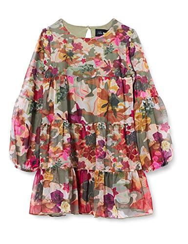 Desigual Vest_neus Vestido Casual, Verde, 11-12...