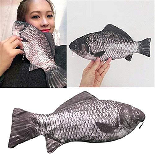 ZOZOSEP Portalápices con Forma de pez Carpa...